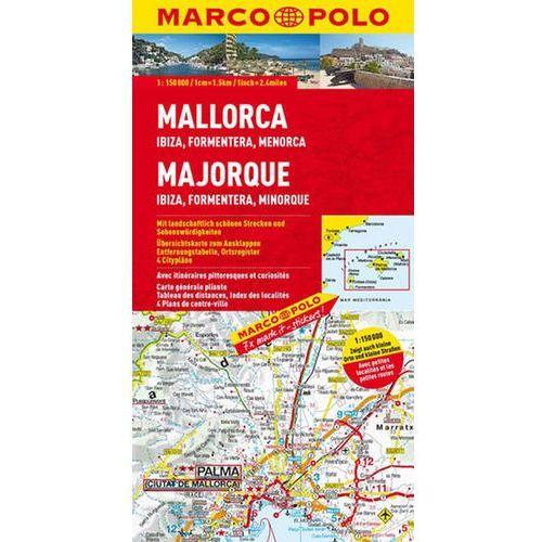 Pozostałe książki, Španělsko-Mallorca/Ibiza/Formentera 150T MD neuveden