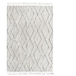 HK Living Dywan Berber z bawełny i frędzlami (140x200) TTK3010