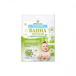 DOMOWE SANATORIUM ziołowa kąpiel dla dzieci 0+ SPOKOJNY SEN pielęgnacja skóry podrażnionej i zaczerwienionej 75ml Fitokosmetik