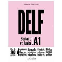 Książki do nauki języka, DELF A1 Scolaire & Junior NE podręcznik +DVD-Rom (opr. broszurowa)