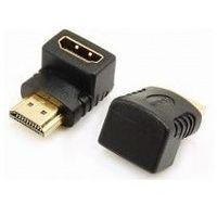 Pozostałe akcesoria do TV, CL-112 (adapter kątowy HDMI wtyk - HDMI gniazdo) Adapter SAVIO