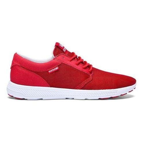 Męskie obuwie sportowe, buty SUPRA - Hammer Run Cardinal- Off White (CAR)