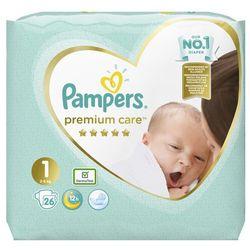 Pampers Premium Care Pieluchy Rozm. 1, 2-5kg 26szt - 8001841104614- Zamów do 16:00, wysyłka kurierem tego samego dnia!