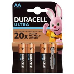 Baterie DURACELL Ultra Power AA 4szt.