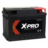 Akumulatory samochodowe, Akumulator X-PRO 55Ah 480A EN wysoki Prawy Plus