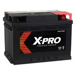 Akumulator X-PRO 55Ah 480A EN wysoki Prawy Plus