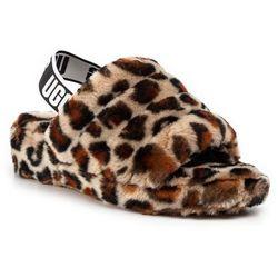 Kapcie UGG - W Fluff Yeah Slide Leopard 1106252 Amp