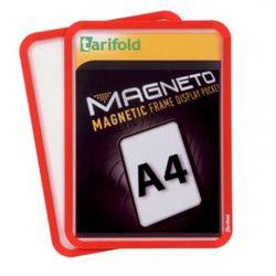 Kieszeń magnetyczna A4, 2 szt., czerwona