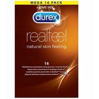 Prezerwatywy, Durex Real Feel prezerwatywy nielateksowe cienkie 16szt