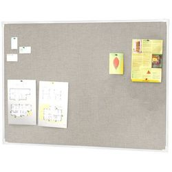 Tablica informacyjna, 3000x1200 mm, jasnoszary, aluminium