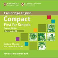 Językoznawstwo, Compact First for Schools 2nd Edition. CD do Podręcznika