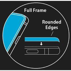 Szkło hartowane 3D Forever do iPhone X białe