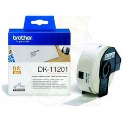 Oryginał Etykieta Brother do QL-500/550/560/650/1050/1060N | 29 x 90 mm | DK-11201
