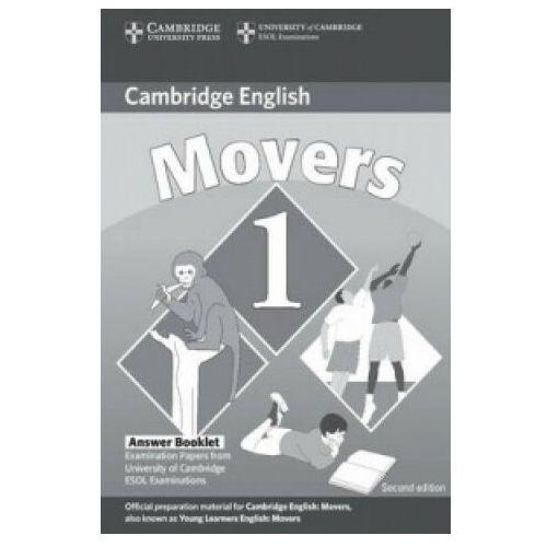 Książki do nauki języka, Cambridge Young Learners English Tests Movers 1 Answer Booklet (opr. miękka)