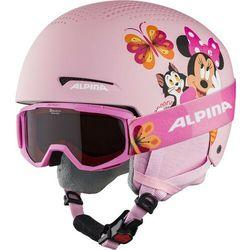 Alpina Zupo Disney Set Ski Helmet Kids, minnie mouse 48-52cm 2020 Kaski narciarskie