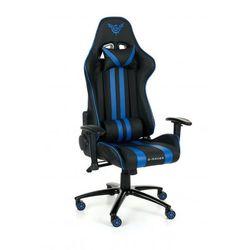 Fotel Gamingowy G-Racer Optimum Dla Gracza niebieski