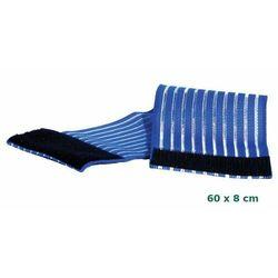 Opaska do mocowania elektrod silikonowych 60x8 cm niebieska