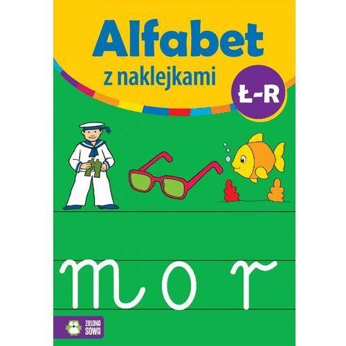 Naklejki, Alfabet z naklejkami Ł - R