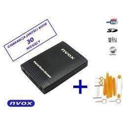 NVOX NV1086M FORD2 QUADLOCK Zmieniarka cyfrowa emulator MP3 USB SD FORD QUADLOCK