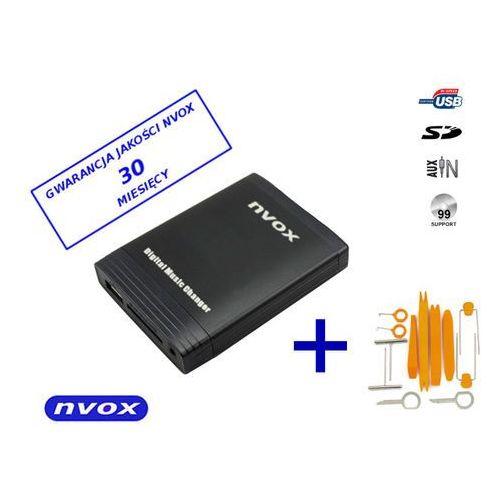 Zmieniarki samochodowe, NVOX NV1086M REN 12PIN Zmieniarka cyfrowa emulator MP3 USB SD RENAULT 12PIN