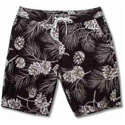 strój kąpielowy GRIZZLY - River Falls Summer Crop Boards Black (BLK) rozmiar: XL