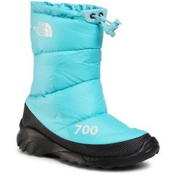 Śniegowce THE NORTH FACE - Nuptse Bootie 700 NF0A4OAYVDE1 Transantarctic Blue/Tnf White