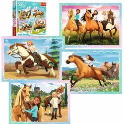 Puzzle 4w1 Spirit Riding Free, Popołudniowa przejażdżka