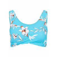Stroje kąpielowe, Kostium kąpielowy bonprix niebieskozielono-biały w kropki