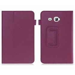 Etui STAND COVER Galaxy Tab A 7.0 T280, T285 Fioletowe - Fioletowy