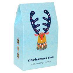 Zestaw świątecznych herbat - Christmas Tea - doskonały prezent upominek na mikołaja lub gwiazdkę. Gramatura 9x5g + 1x8g