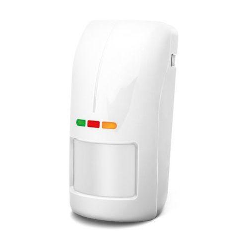 Czujki alarmowe, OPAL Pro Cyfrowa dualna czujka ruchu, zewnętrzna, biała, bez uchwytu Satel