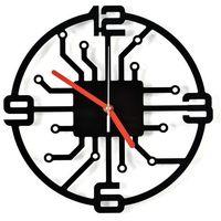 Zegary, Nowoczesny Zegar ścienny Roboto akrylowy plexi