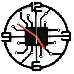 Nowoczesny Zegar ścienny Roboto akrylowy plexi