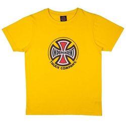 koszulka INDEPENDENT - Youth Truck Co. Tee Yellow (YELLOW) rozmiar: 10-12