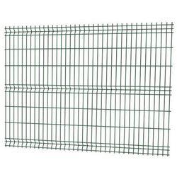 Panel ogrodzeniowy 3D 153 x 250 cm oczko 7,5 x 20 cm drut 3,2 mm ocynk zielony