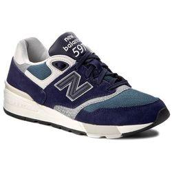 Sneakersy NEW BALANCE - ML597AAA Granatowy