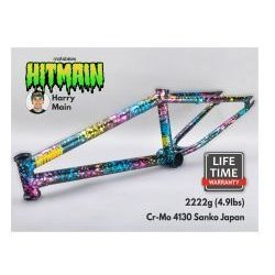 "Rama BMX Mafiabikes Hitmain 20.4"" Splatter Fuel"