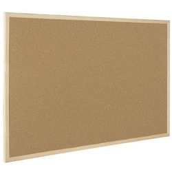 BI-OFFICE Tablica korkowa BI-OFFICE, 90x60cm, rama drewniana - 5603750170129
