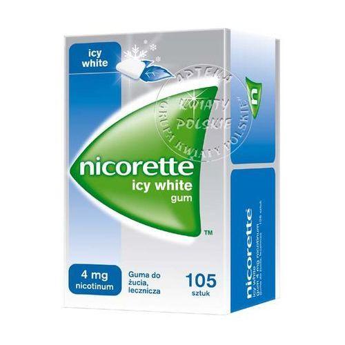 Gumy nikotynowe, Nicorette Icy White 4mg x 105 szt
