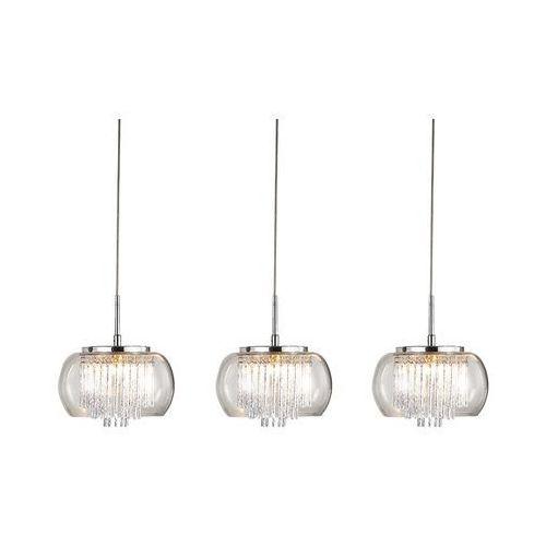 Lampy sufitowe, REGO 3 LINE 3957-3P LAMPA WISZĄCA AZZARDO AZ2453