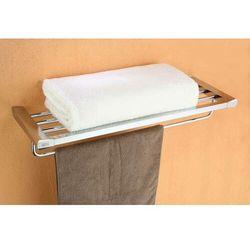 Półka na ręczniki z relingiem ROK-87012