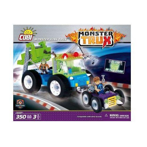 Figurki i postacie, Klocki Cobi Monster Trux Monster Junk Trux z 3 figurkami