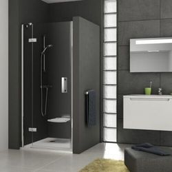 Ravak SmartLine drzwi prysznicowe SMSD2-110b, prawe, Chrom+Transparent 190 cm 0SPDBA00Z1