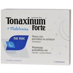 Tonaxinum Forte + Melatonina na noc x 60 tabletek