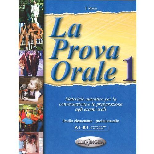 Książki do nauki języka, La Prova Orale 1 (opr. miękka)