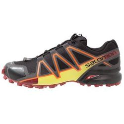 Salomon SPEEDCROSS 4 CS Obuwie do biegania Szlak black/magnet/red dalhia