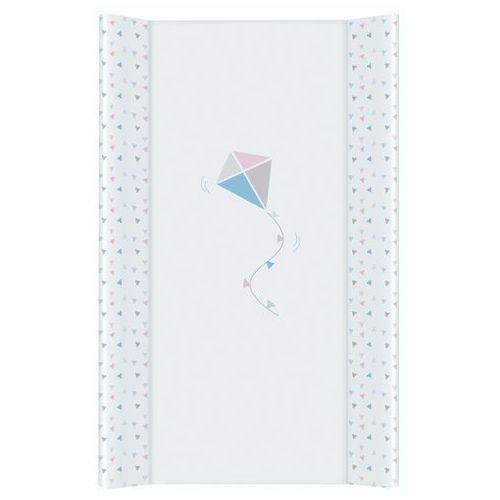 Przewijaki i maty do przewijania, MAMO-TATO Przewijak na łóżeczko usztywniony 50x70 Latawiec niebiesko-różowy
