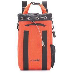 Plecak sejf podróżny wodoodporny Pacsafe Dry 15l - pomarańczowy - Pomarańczowy