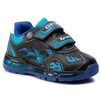 Półbuty i trzewiki dziecięce, Sneakersy GEOX - J Android B. C J9444C 054CE C0035 M Black/Lt Blue