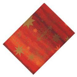 Obrus świąteczny imitujący tkaninę ( 80cm x 80cm) 16246